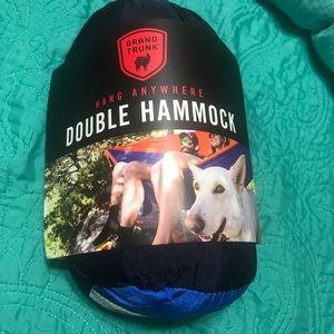 GrandTrunk double parachute hammock